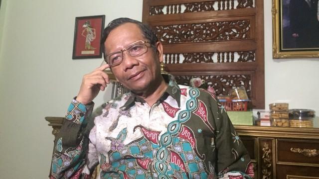 Mantan Ketua Mahkmah Konstitusi (MK) Mahfud MD