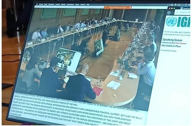 "Indonesia Ajak MAG IGF PBB Membaca Kembali ""IGF 2013 - Bali"" (181535)"