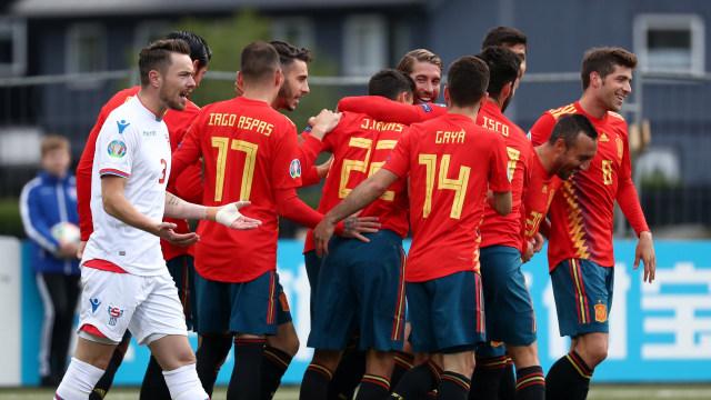 Kepulauan Faroe vs Spanyol