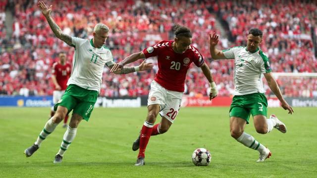 Denmark vs Republik Irlandia