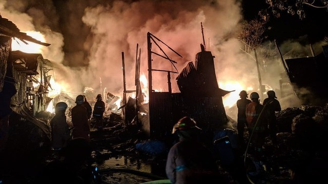 Kebakaran, Pasar Minggu