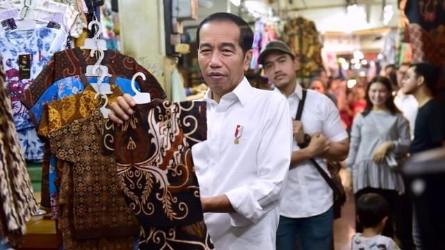 Presiden Joko Widodo, Pasar Beringharjo