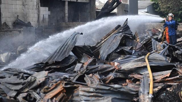 Kebakaran di Pasar Minggu, Jakarta