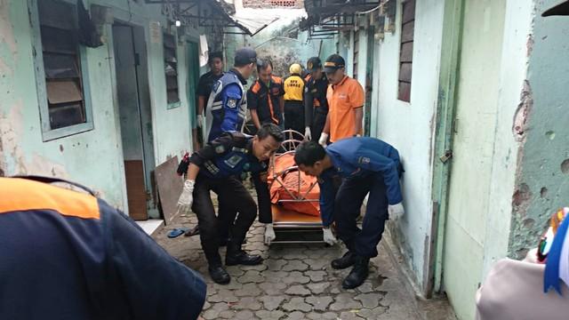 Pasutri Ditemukan Tewas di kos Kupang Gunung Timur Surabaya