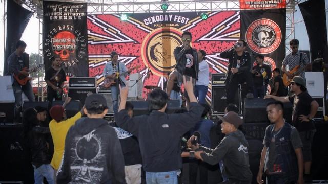 Foto: Halalbihalal Ala Anak Punk (21832)