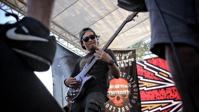 Foto: Halalbihalal Ala Anak Punk (21835)