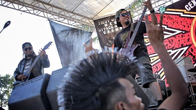 Foto: Halalbihalal Ala Anak Punk (21826)