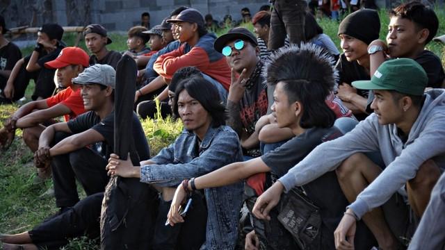 Foto: Halalbihalal Ala Anak Punk (21823)