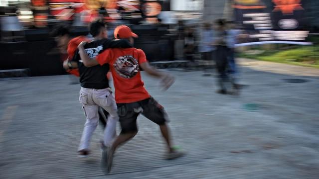 Foto: Halalbihalal Ala Anak Punk (21833)