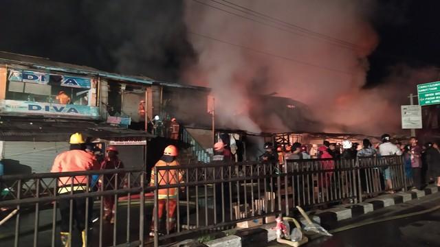 Kebakaran Pasar Ujungberung Kota Bandung