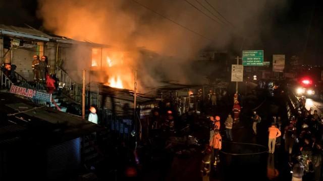 Kebakaran pasar Ujungberung, Bandung