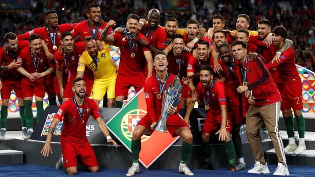 Apa Artinya Jadi Juara Uefa Nations League Untuk Portugal Kumparan Com
