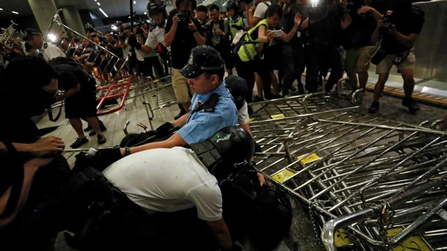Foto: Lautan Manusia di Hong Kong Menolak RUU Ekstradisi  (740671)