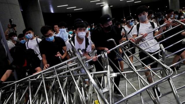 Foto: Lautan Manusia di Hong Kong Menolak RUU Ekstradisi  (740669)