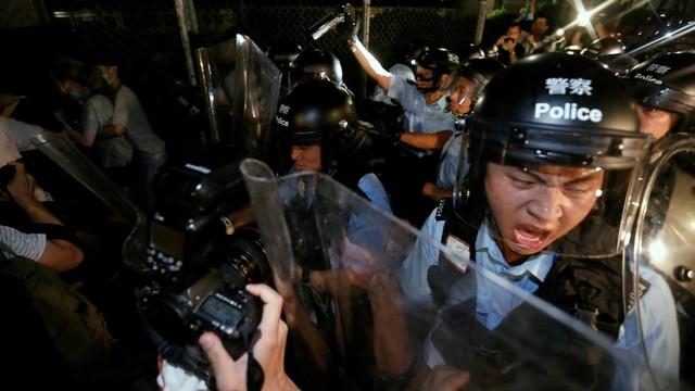 Foto: Lautan Manusia di Hong Kong Menolak RUU Ekstradisi  (740674)