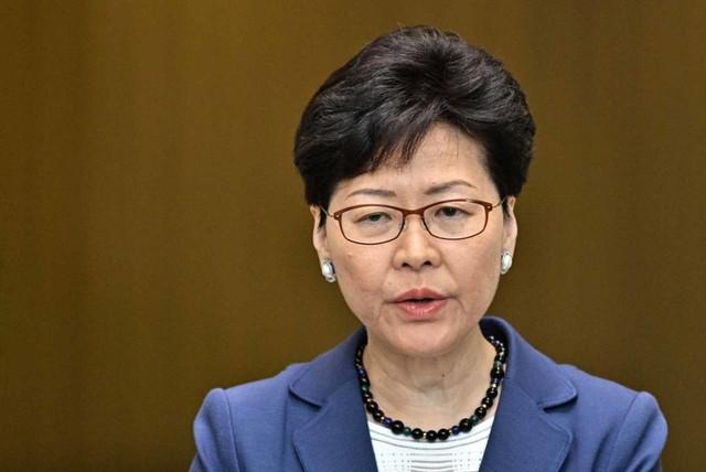 Kepala Eksekutif Hongkong, Carrie Lam (NOT COVER)