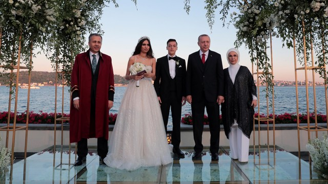 Mesut Oezil Menikah, Erdogan Jadi Tamu Penting (348644)