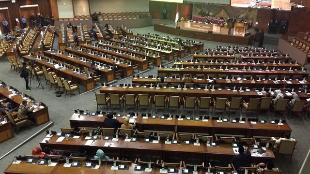 Rapat paripurna DPR ke-19 masa persidangan ke-V Tahun 2018-2019
