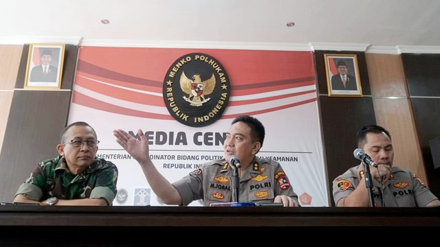 Kadiv Humas Mabes Polri, Irjen Pol M Iqbal, konferensi pers terkait aksi, kerusuhan 21-22 Mei 2019