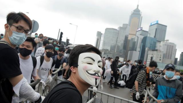 Lautan Massa Kembali Padati Hong Kong, Tolak RUU Ekstradisi (89681)