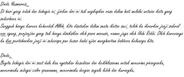 Surat Cinta Untuk Dinda Yusmarnis Kumparancom