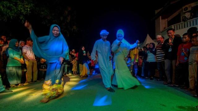 Tradisi Lebaran di Palu, Festival Kampung Baru