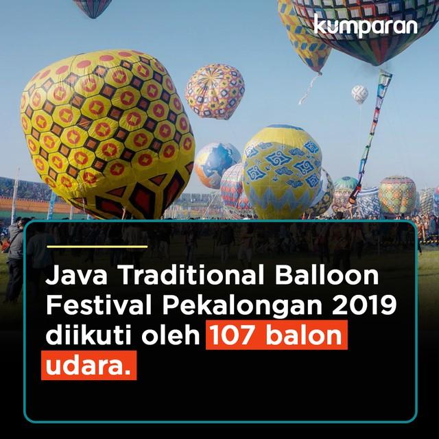 Krispi Festival Balon Pekalongan