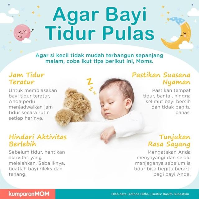 Cara Agar Bayi Tidur Pulas - kumparan.com