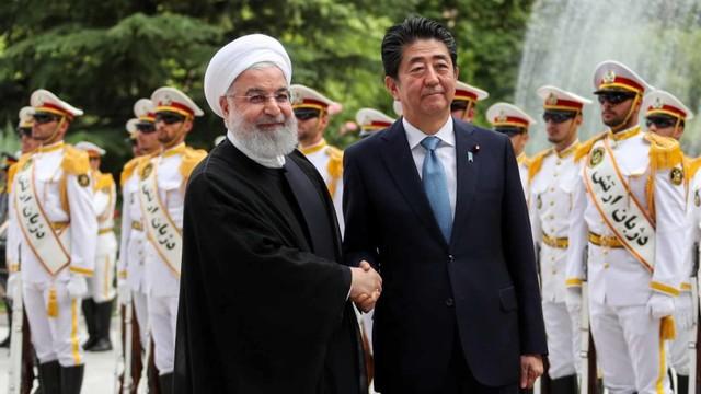 Pertemuan PM Jepang dan Presiden Iran