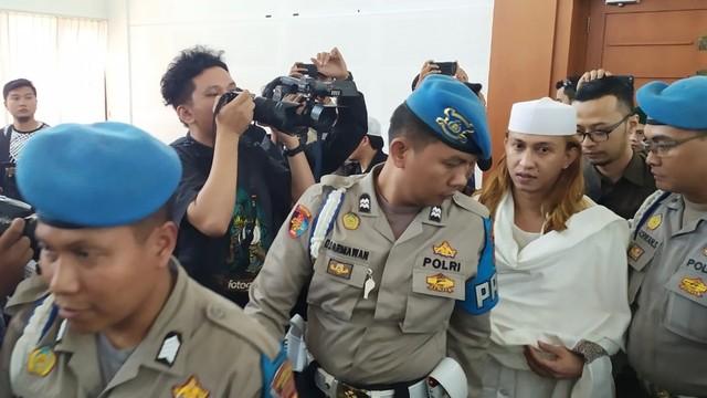 Habib Bahar bin Smith, di PN Bandung