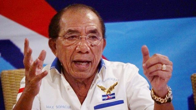 Anggota senior Partai Demokrat, Max Sopacua, Partai Demokrat di Cikini