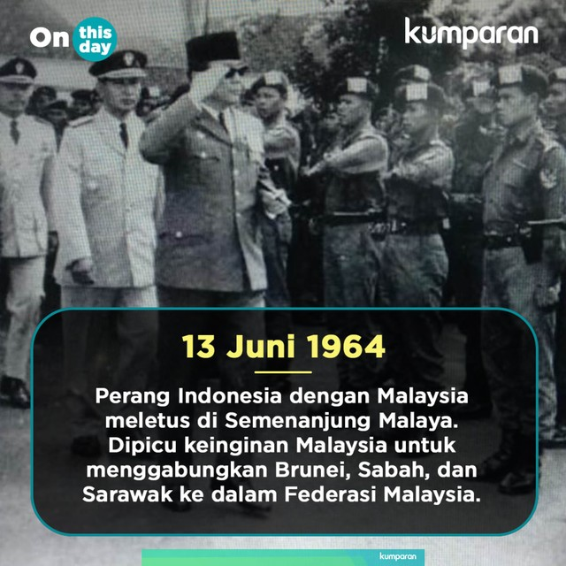 On This Day: Perang Indonesia-Malaysia