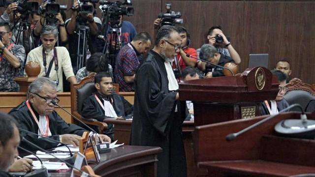 Mahkamah Konstitusi, Tim kuasa hukum BPN, Bambang Widjojanto