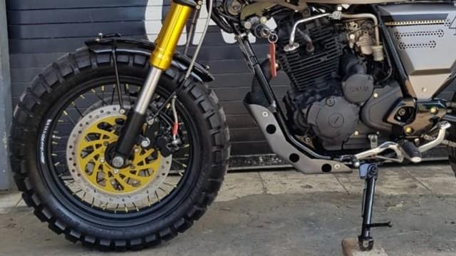 Modifikasi Yamaha Scorpio ala Moge Scrambler, Ongkosnya Berapa?  (135009)