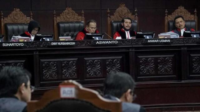 Mahkamah Konstitusi, Suasana Sidang Perdana PHPU Pilpres 2019