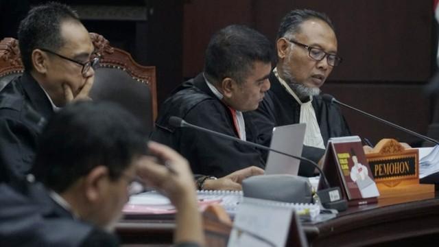 Mahkamah Konstitusi, sidang perdana PHPU Pilpres 2019, Bambang Widjojanto