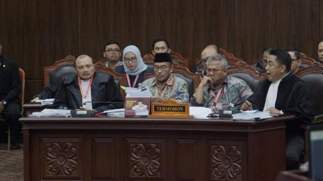 Mahkamah Konstitusi, sidang perdana PHPU Pilpres 2019, Arief Budiman