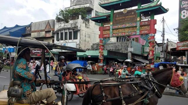 Kampung Ketandan di Yogyakarta