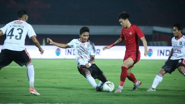 Timnas U-23 vs Bali United