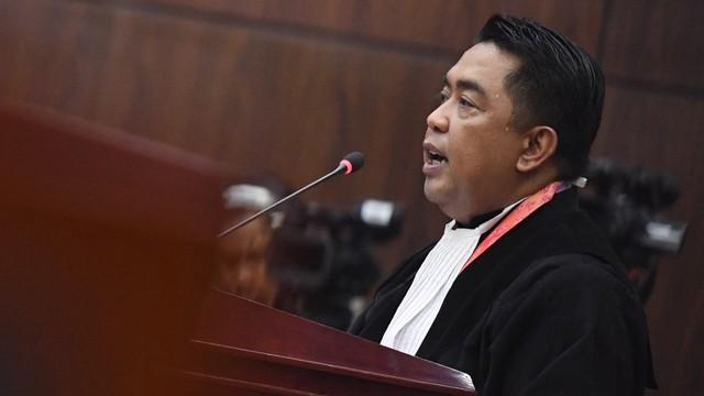 Mahkamah Konstitusi, Sidang Kedua MK, Ali Nurdin