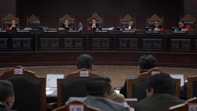 Sidang lanjutan Perselisihan Hasil Pemilihan Umum 2019,MK