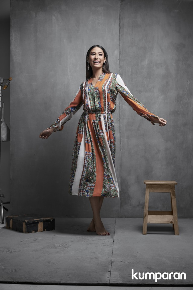 (NOT COVER) Puteri Indonesia 2019, Role Model kumparanWOMAN, Stylist: Erlangga Negoro, Makeup: Mustika Ratu, Busana: Jeffry Tan, Valentino, Torry Burch