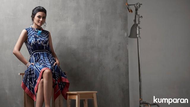 Puteri Indonesia 2019, Role Model kumparanWOMAN, Stylist: Erlangga Negoro, Makeup: Mustika Ratu, Busana: Jeffry Tan, Valentino, Torry Burch