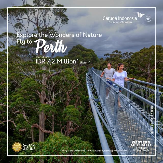 com-Penerbangan Garuda Indonesia ke Perth