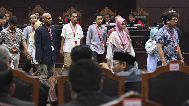 sidang Perselisihan Hasil Pemilihan Umum, MK, saksi