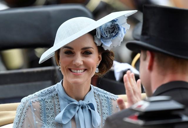Tampilan Kate Middleton di Royal Ascot