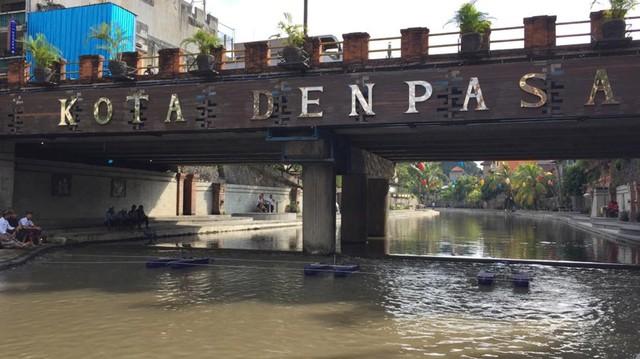 Tiru Jakarta, Denpasar Pasang 3 Alat Penjernih Air di Tukad Badung (1243486)