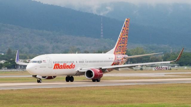 Ilustrasi Pesawat Malindo Air