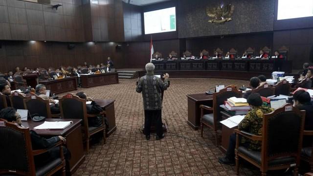 Mahkamah Konstitusi, Sidang Kedua MK, KPU, Saksi Ahli Marsudi Wahyu Kisworo