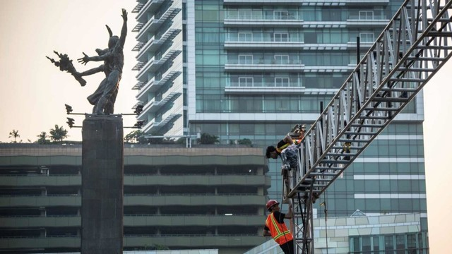 Persiapan HUT DKI Jakarta ke-492